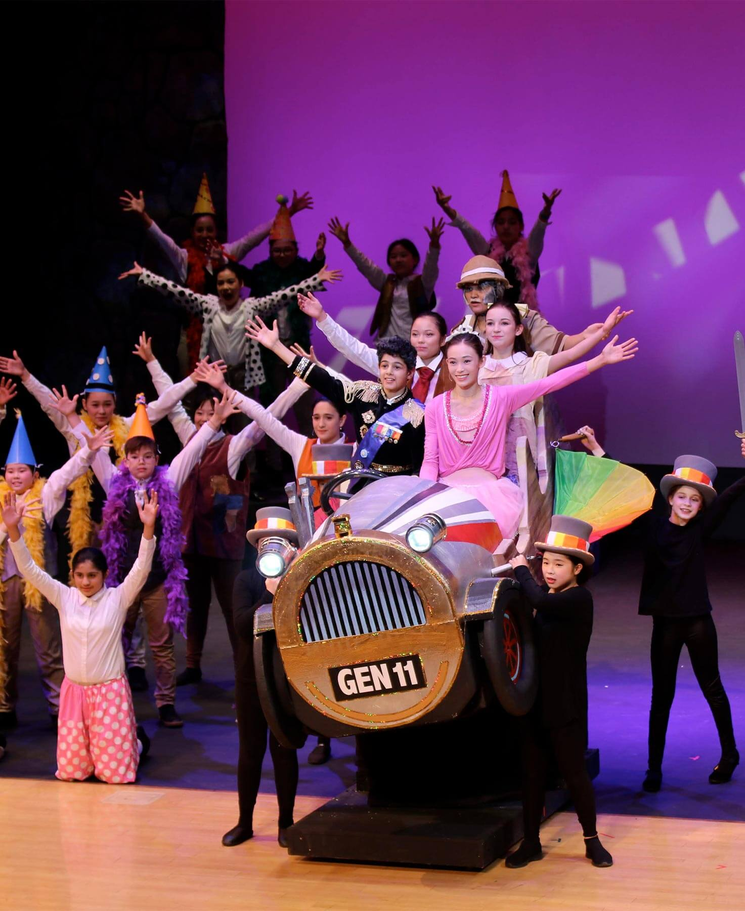 Middle School Musical, Chitty Chitty Bang Bang, in the ASIJ Theater