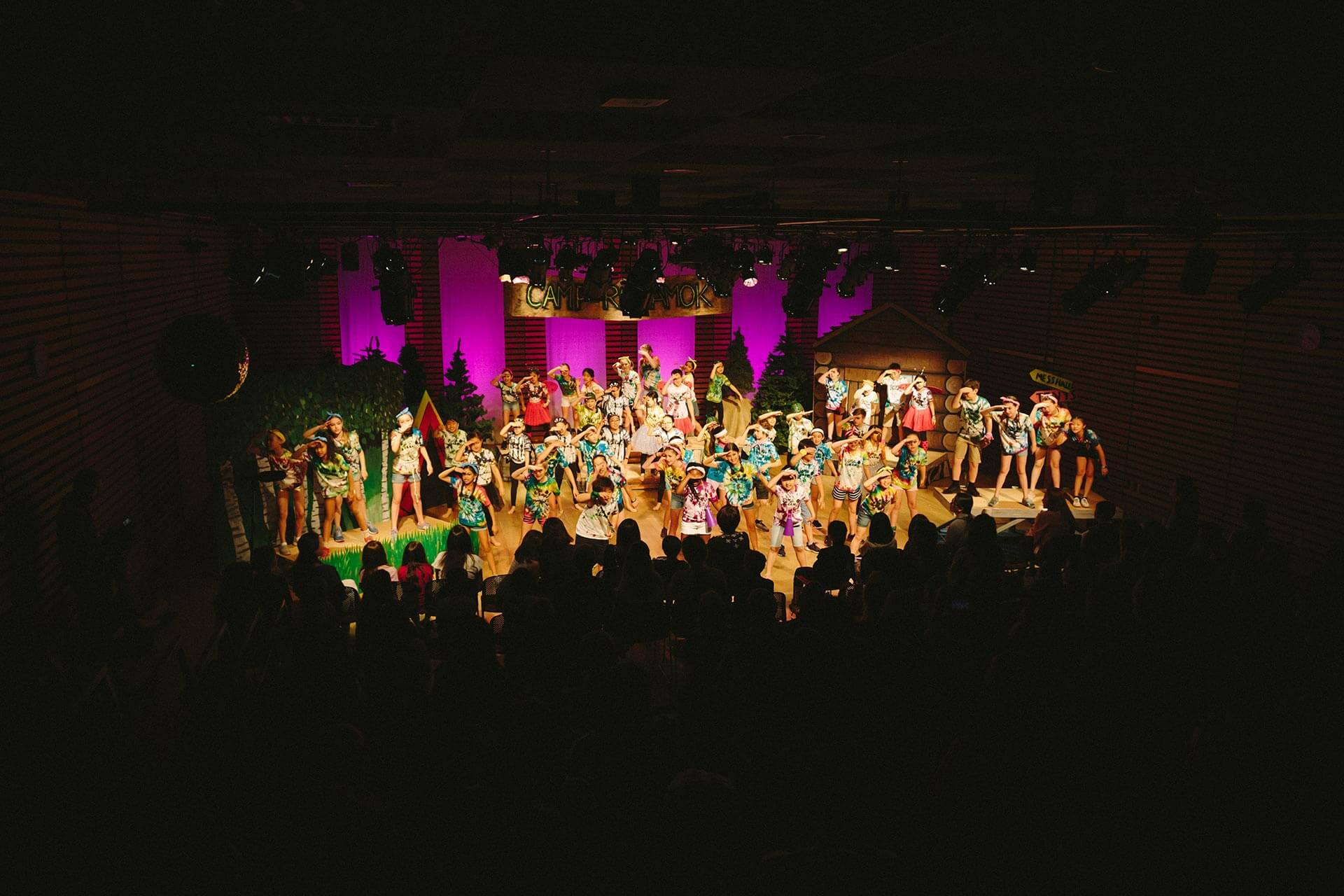 An Elementary School Musical in ASIJ's Multi-Purpose Room