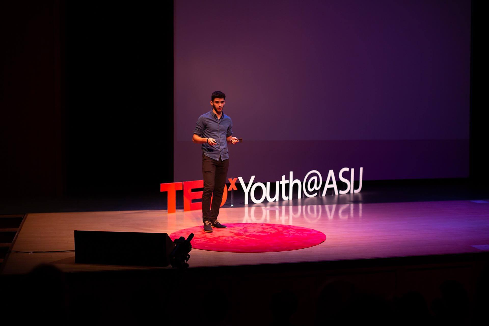 A High School Student Presents at TedX Youth
