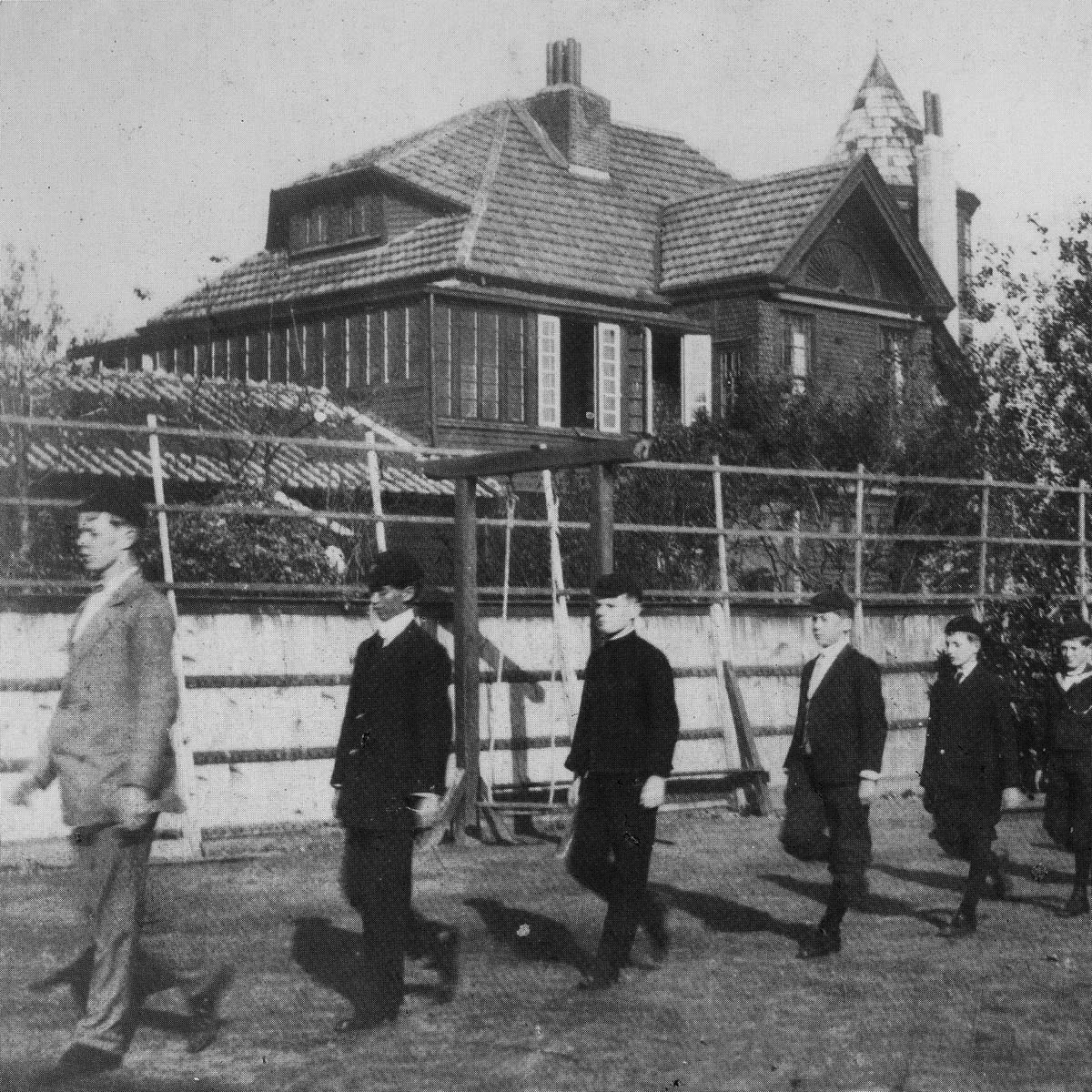 ASIJ Tsukiji Campus from 1910