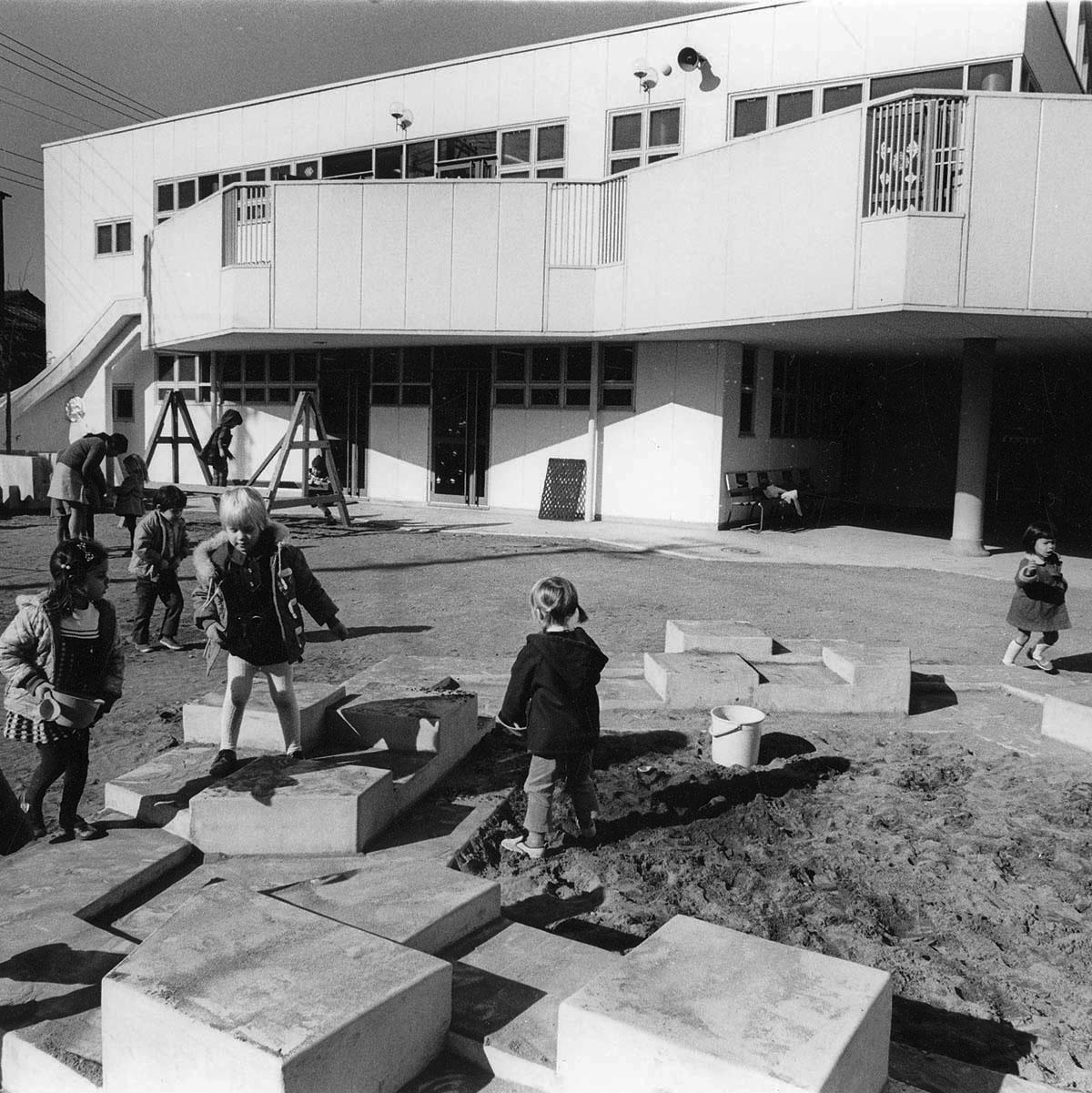 ASIJ Nursery-Kindergarten in Nakameguro from 1973