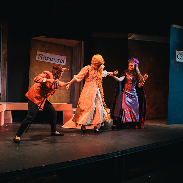 ASIJ High School Students Perform in School Play