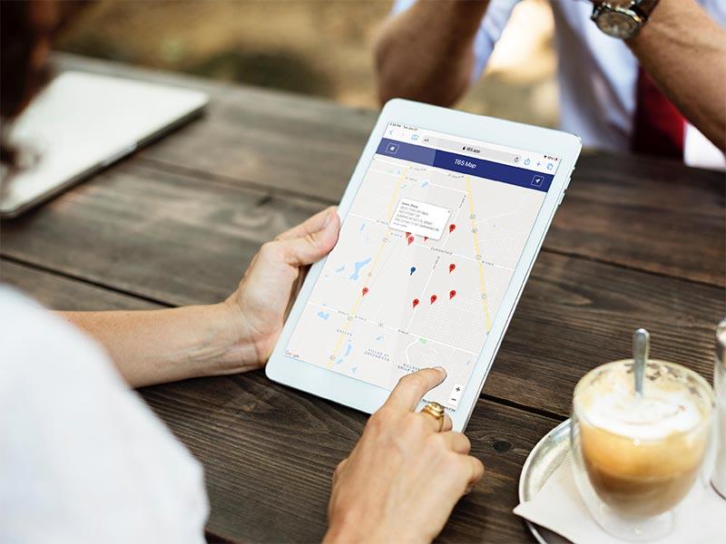 Free T65 Locator App