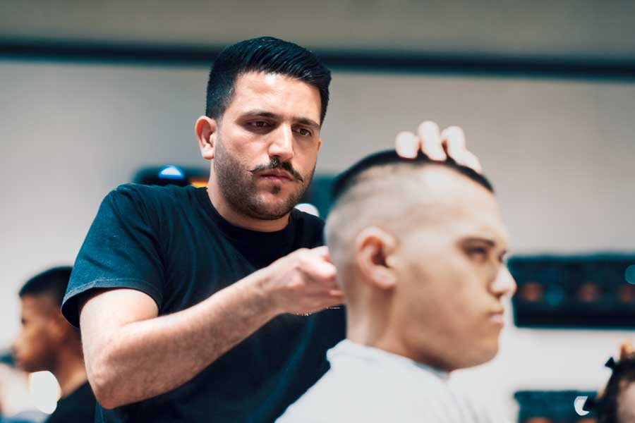 Meet The Barber - Stockland Greenhills - Amir At Barber Industries