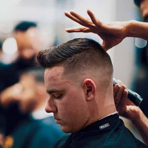 Barber Working In Parramatta Barbershop