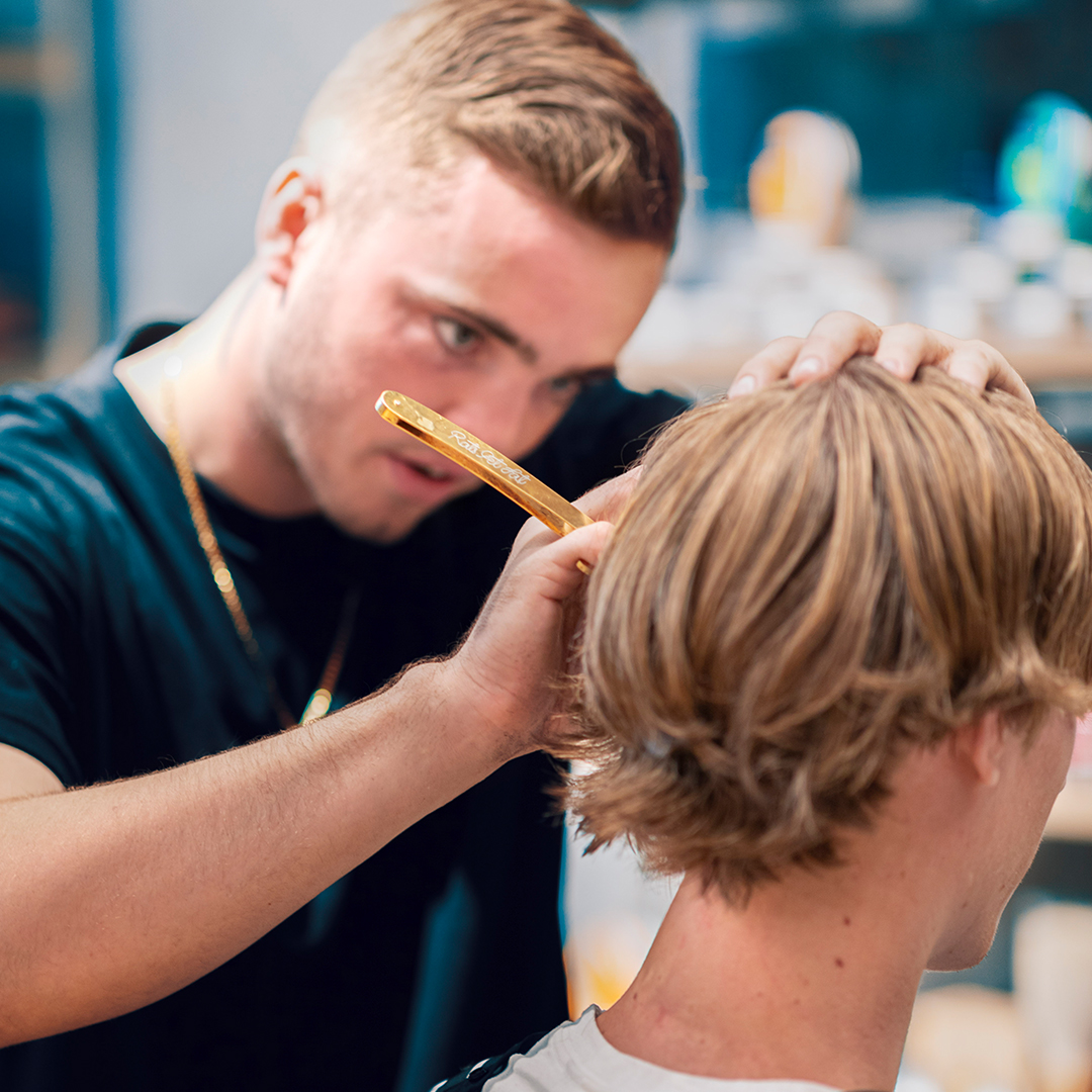 Australia's best barbers know how to groom long hair