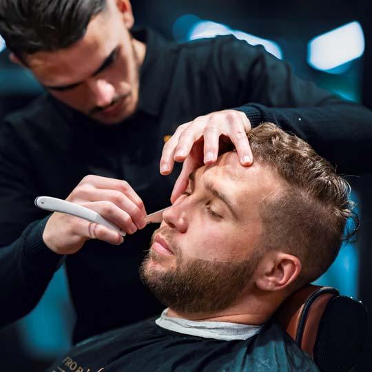 Straight razor shaving techniques