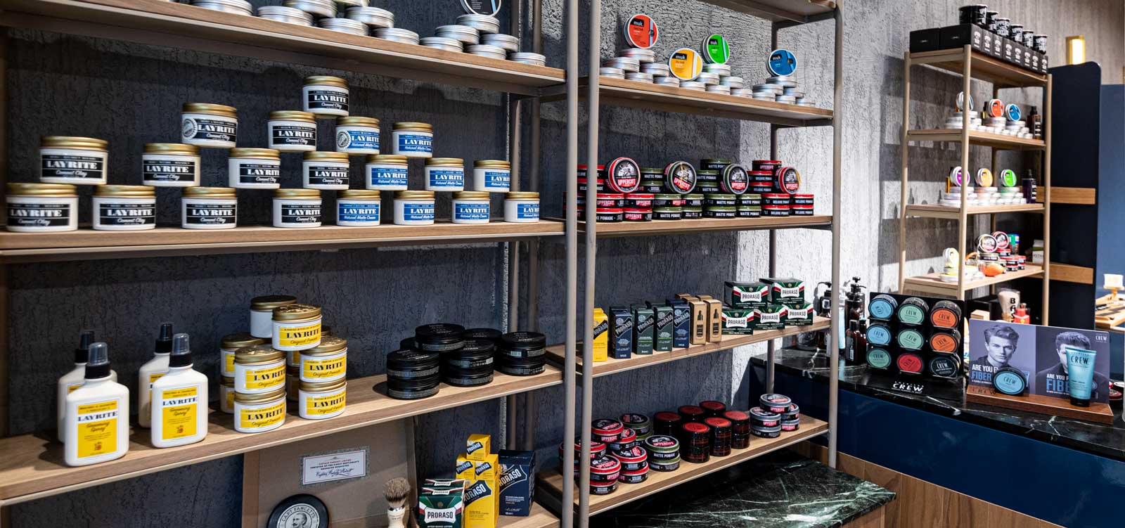Great product range from the best barbers in Perth.