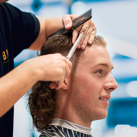 The best barbers in Perth talk mullets for mental health.