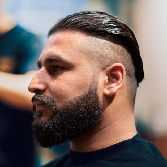 Man With Sculpted Beard