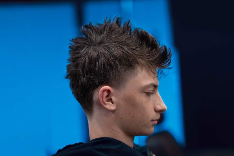 Boys Faux Hawk Hairstyle