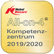 Siegel All-on-4 Kompetenzzentrum 2019/2020