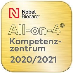 Siegel All-on-4 Kompetenzzentrum 2020/2021