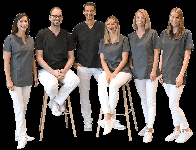 Dr. Kraus — Mitarbeiterteam mit Herz und Teamgeist