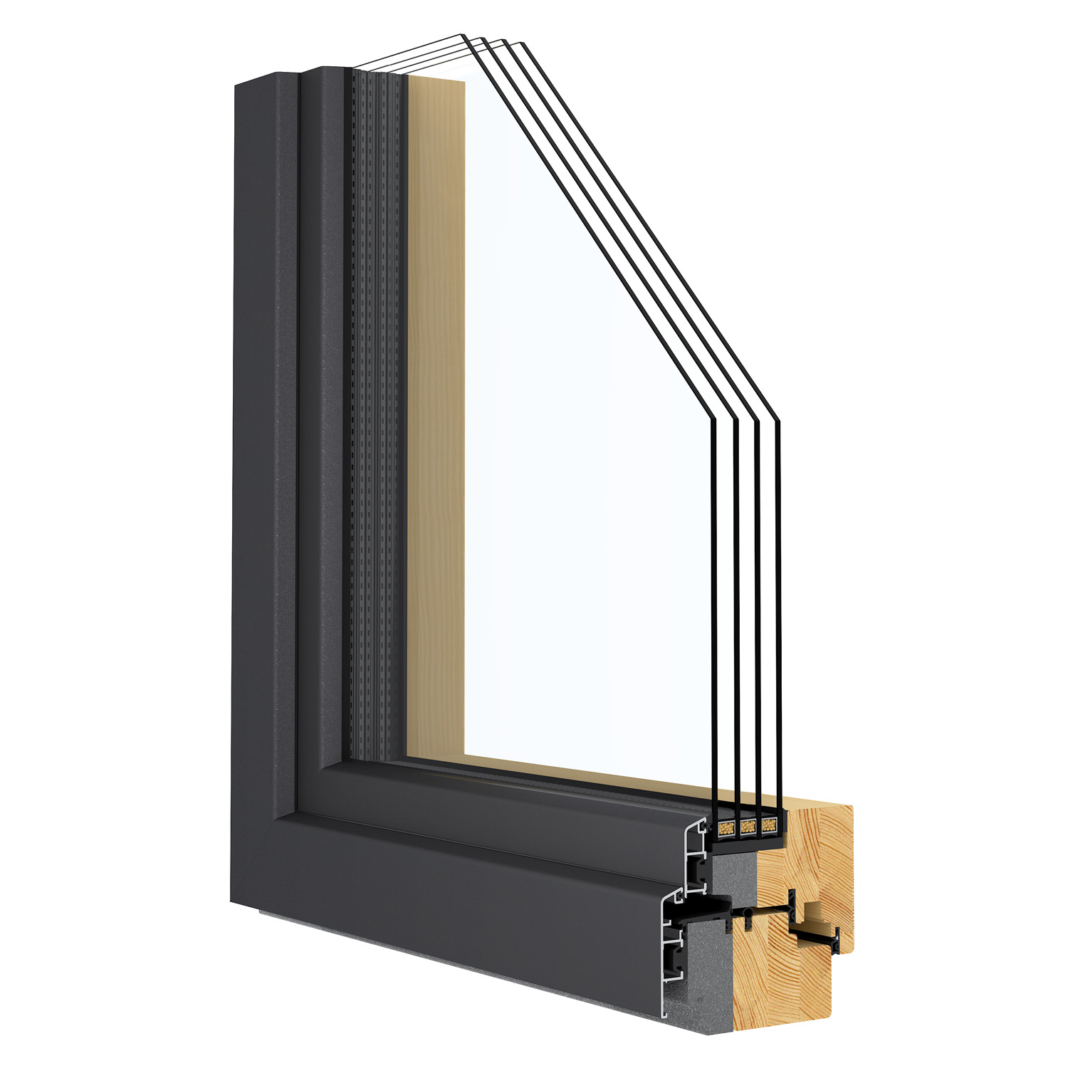 R-11 Zola Arctic™ Passive House window rendering