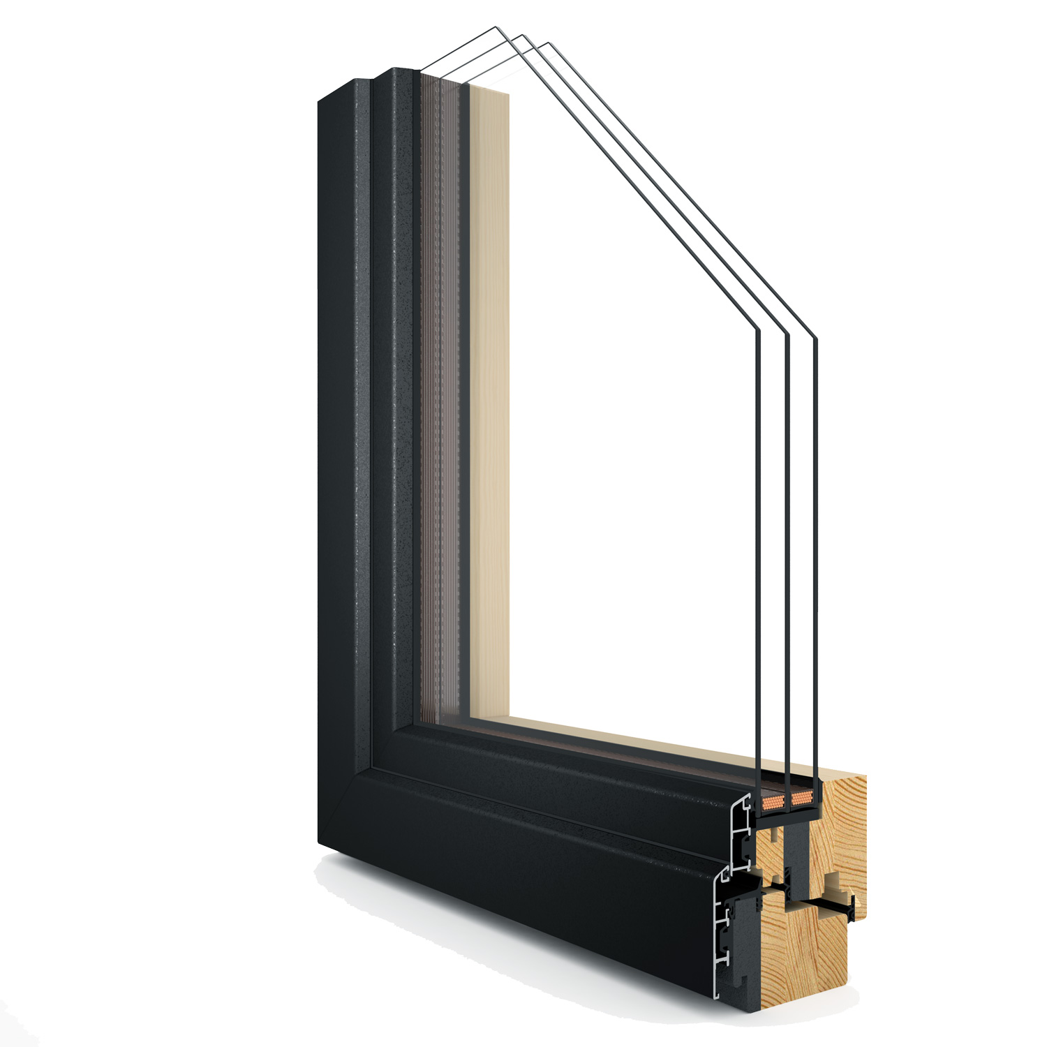 R-8 Zola ThermoPlus Clad™ Passive House window rendering