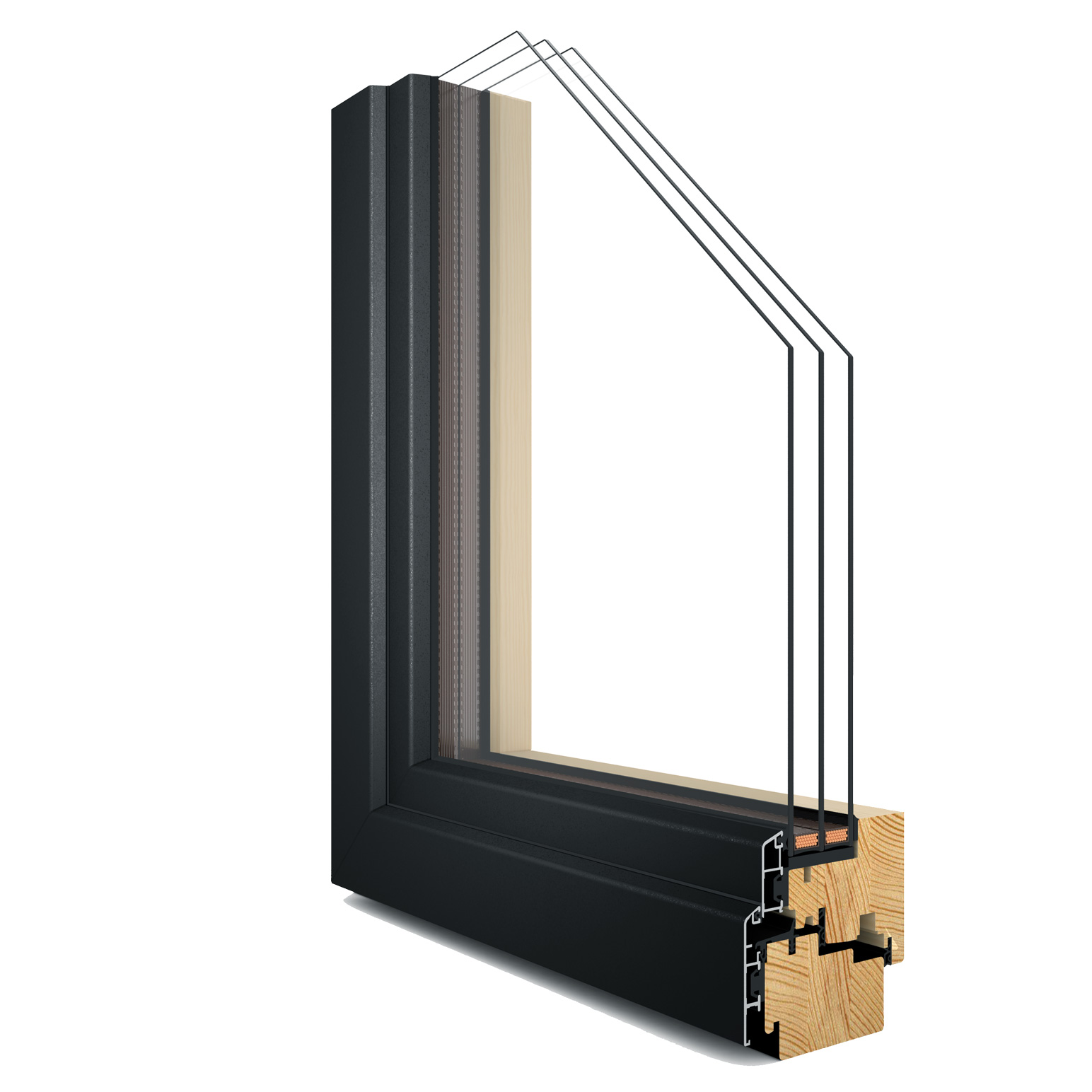 R-7 Zola Thermo Clad™ window rendering