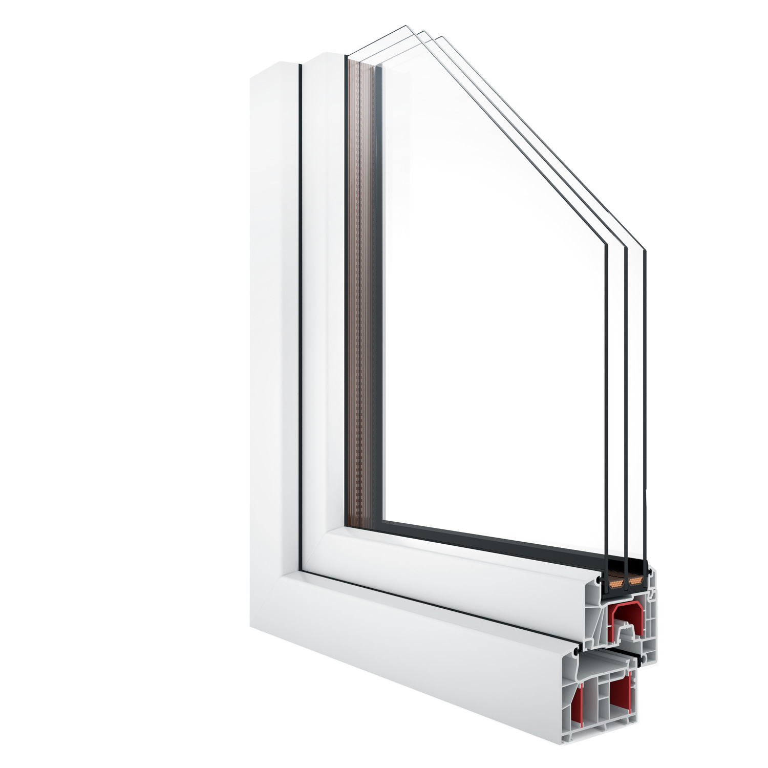 R-7 Zola Thermo uPVC™ window rendering
