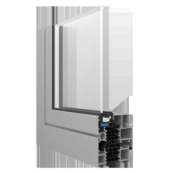 R-4.5 Zola Classic Alu75™ window rendering