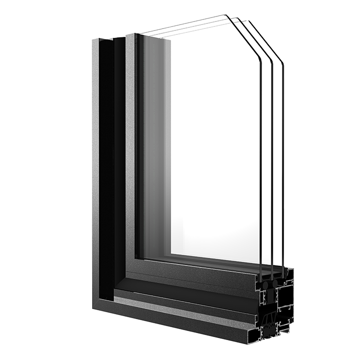 R-7.5 Zola Thermo AluMinima™ window rendering