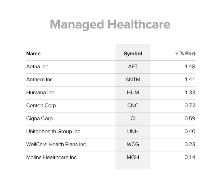 Managed Healthcare Hedge Fund