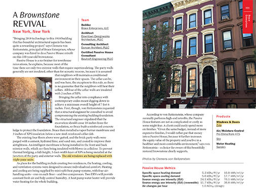 A Brownstone Revival