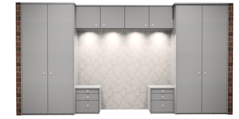 bedroom furniture layout  h double