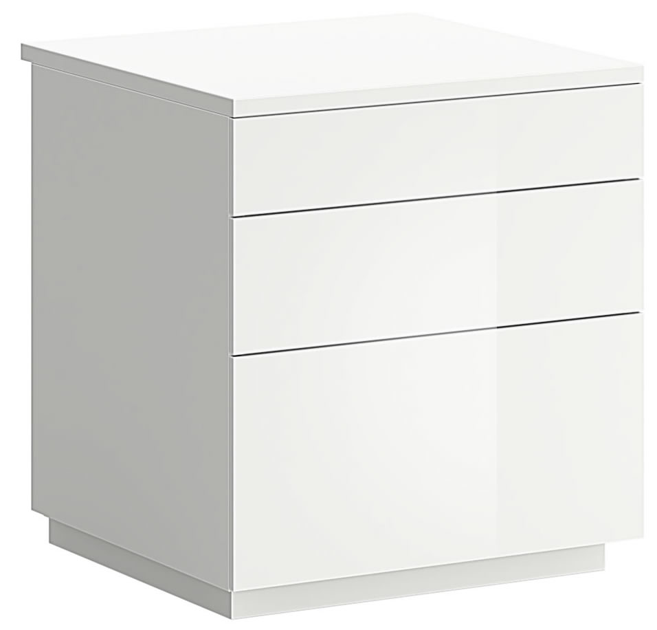 modern 2 drawer bedside chest