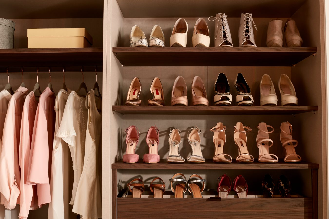 internal shoe rack