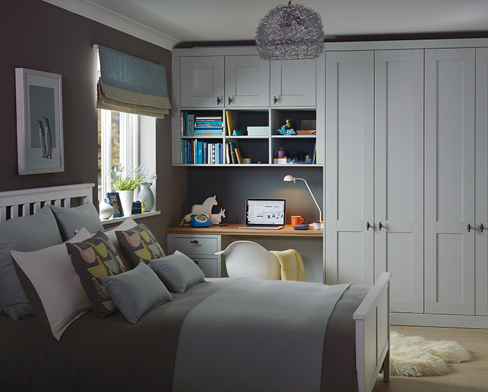 bedroom design grey