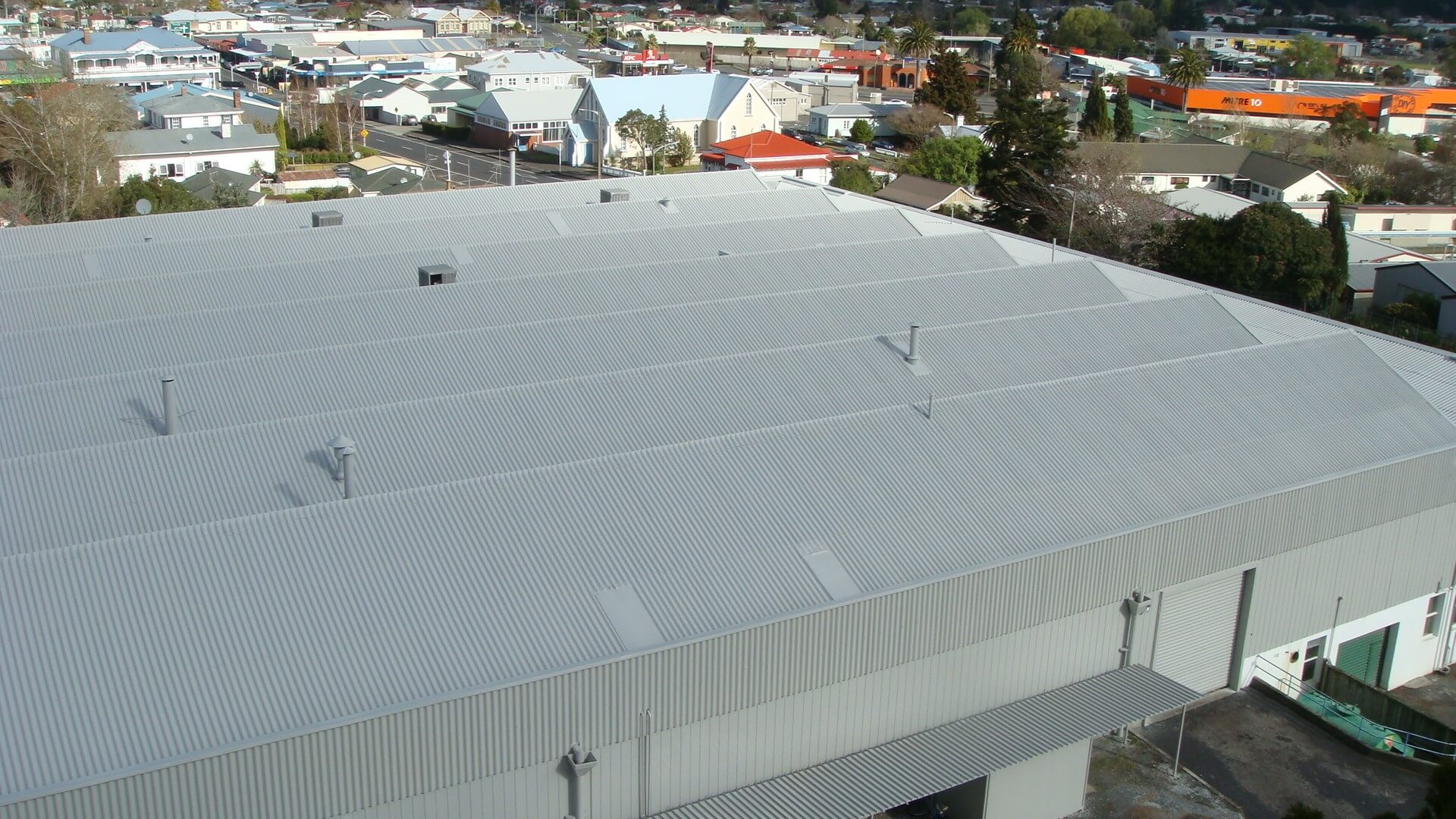 After Asbestos Roof Coating