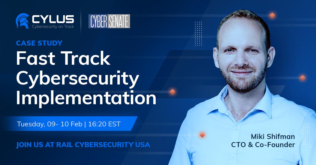 Rail Cyber Security USA 2021