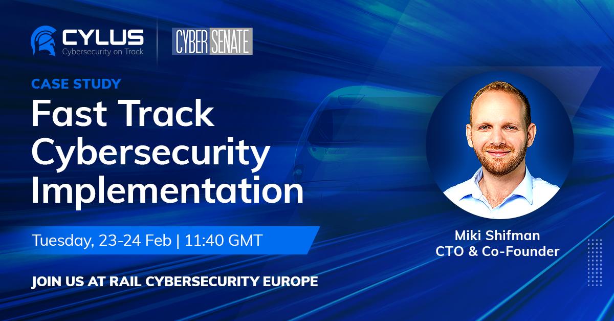 Rail Cybersecurity Europe 2021