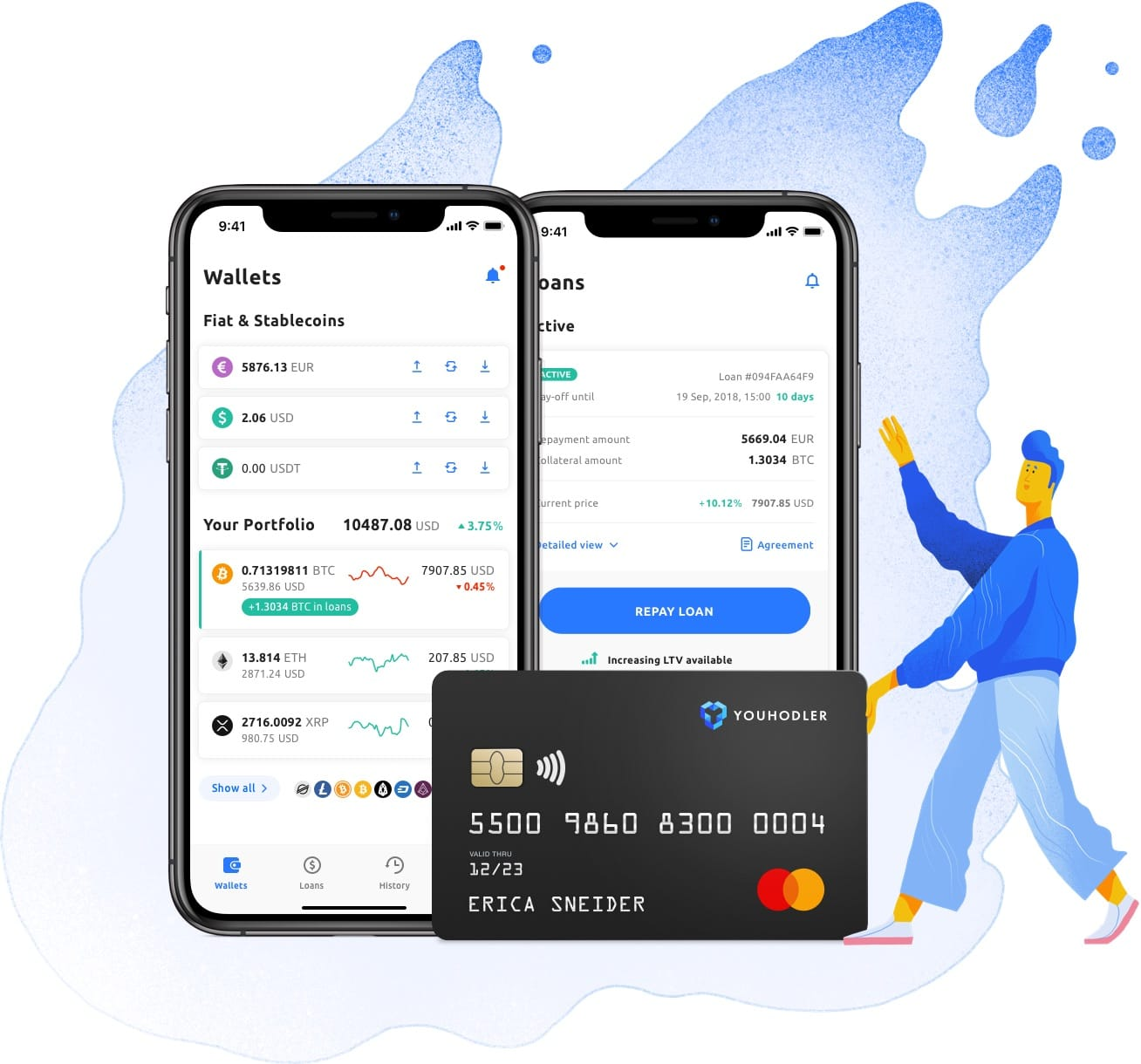 crypto credit app and card
