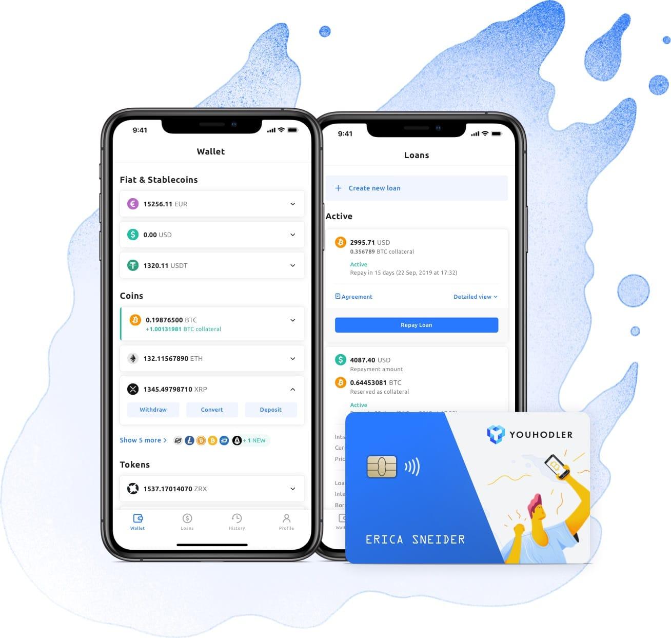 youhodler crypto loan app