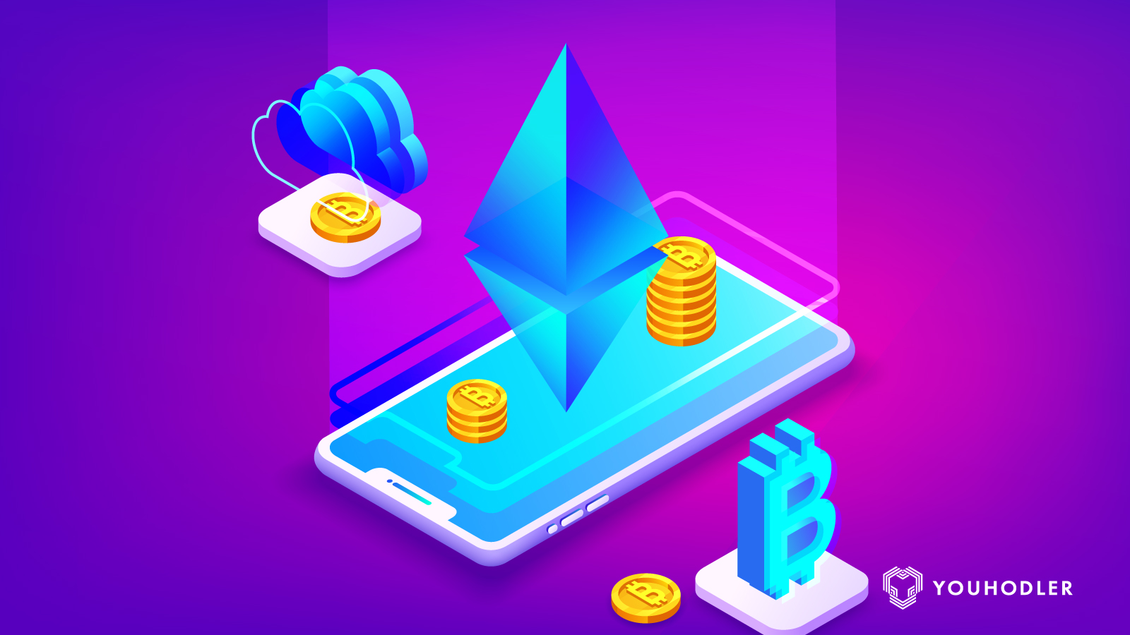YouHodler's brand new mobile app is now available for free download for all iOS and Android mobile devices. The app is a compact version of the platform including a crypto-fiat wallet with all coin/tokens, fiat options and stablecoin options from YouHodler.