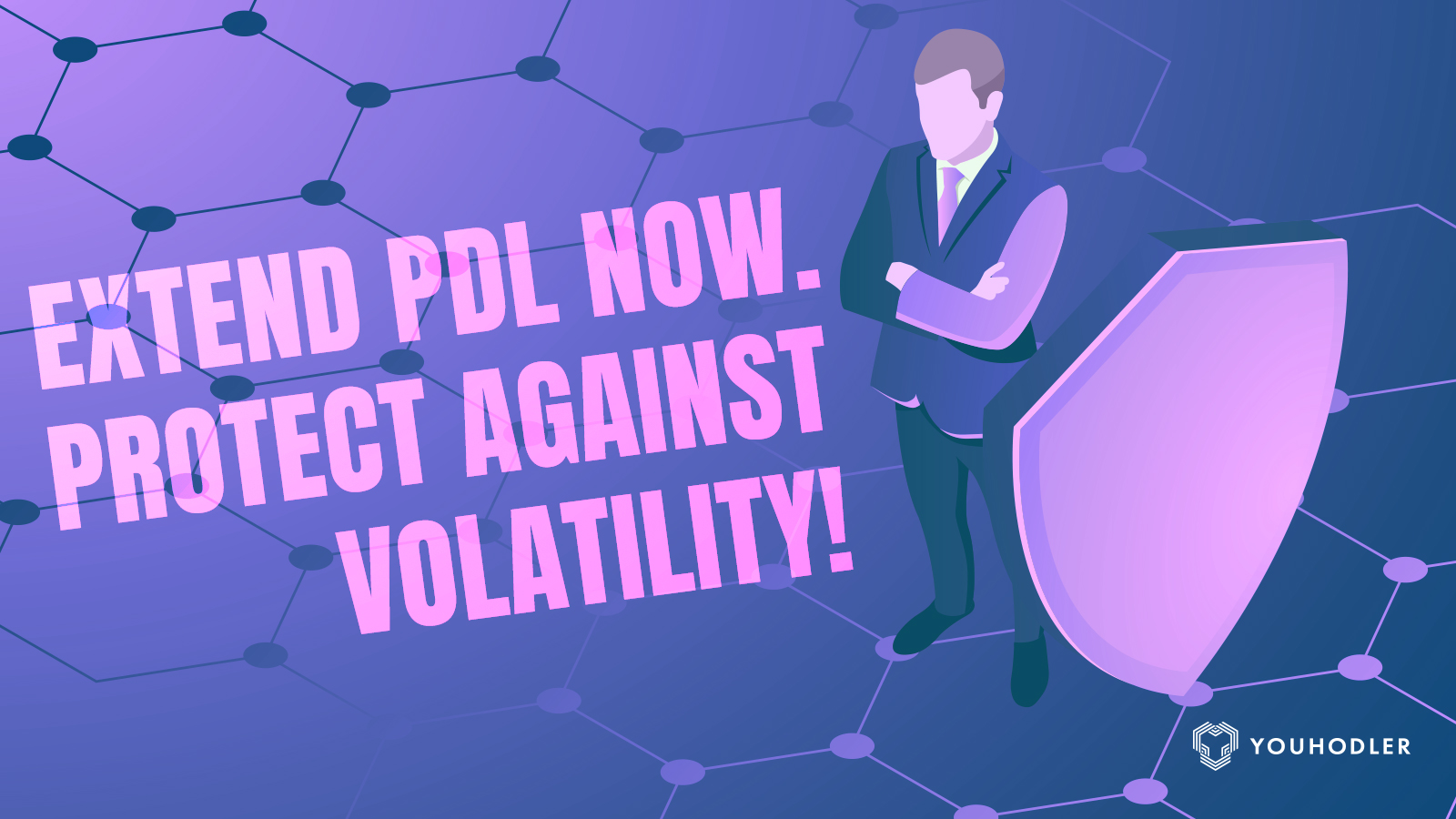 YouHodler's new PDL Extend feature improves the control its users have during market volatility. Now, users extend the price down limit on their opened loans and protect them from any sudden market volatility.
