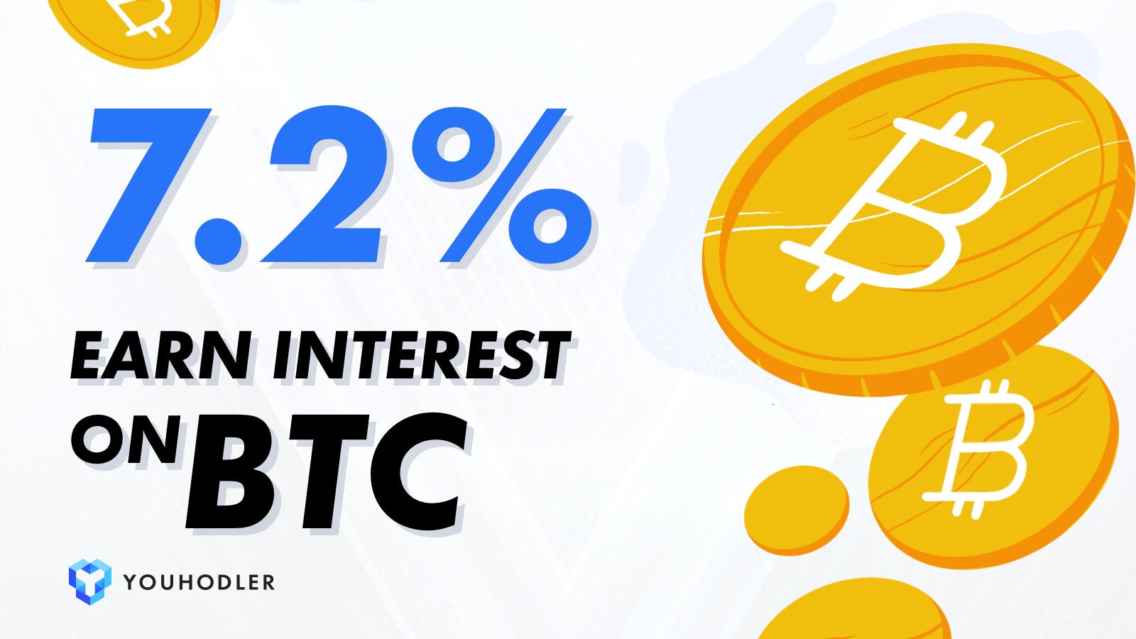 Available for all YouHodler clients, BTC savings account lets users deposit BTC into a wallet on the platform which will grow up to 7.2% each year..