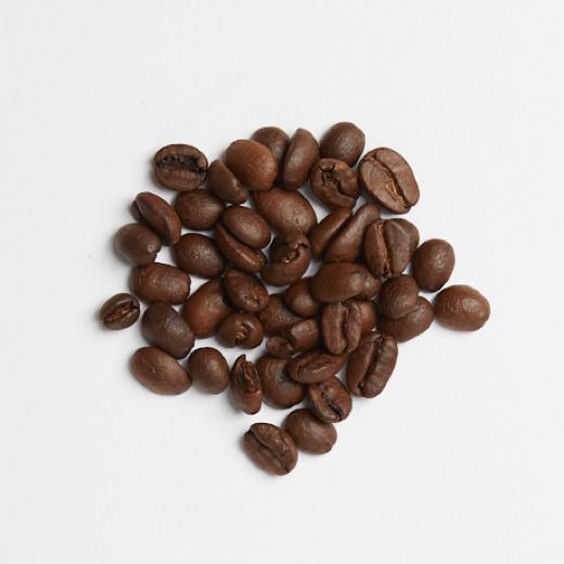 Café en grains décaféiné