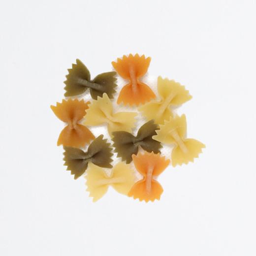 Farfalle tricolores