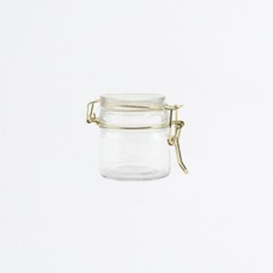 Bocal en verre fermeture mécanique petit