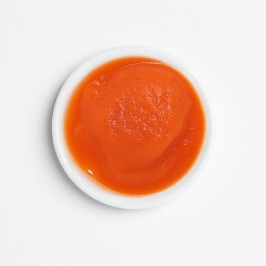 Ketchup orange splash