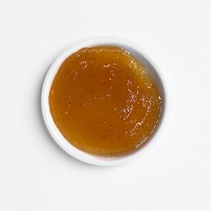 Confiture pomme raisin gingembre