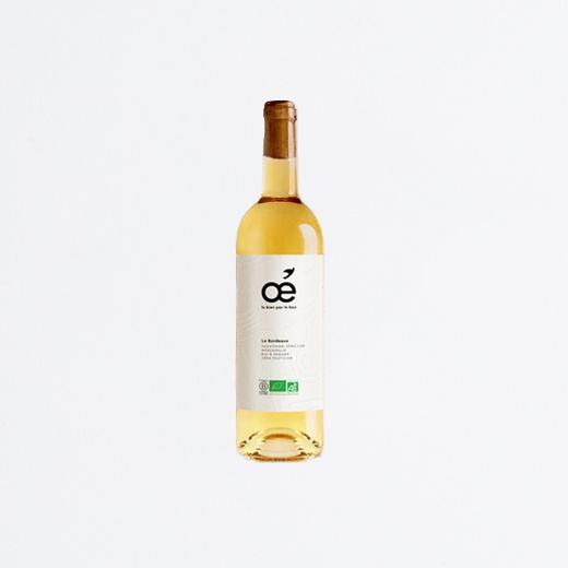 Bouteille vin blanc Bordeaux