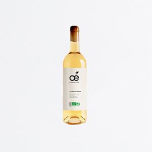 Bouteille vin blanc côte du Rhône