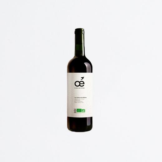 Vin Rouge Côtes du Rhône AOC Bio