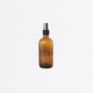 Flacon vaporisateur verre ambré 100mL