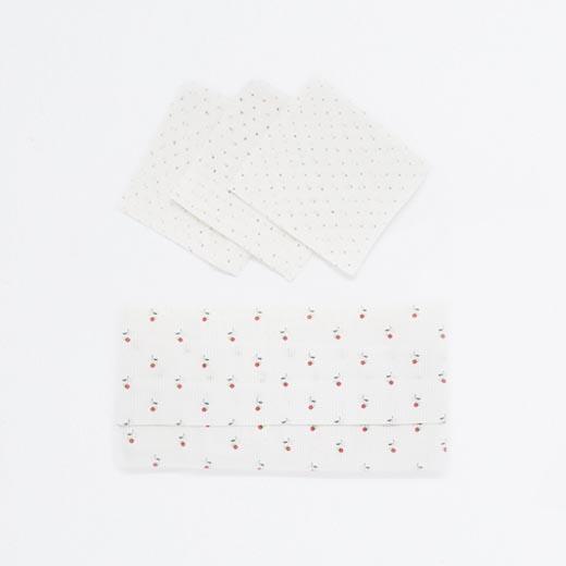 Mouchoirs en coton réutilisables