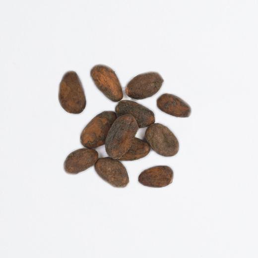 Fèves de cacao enrobées de chocolat