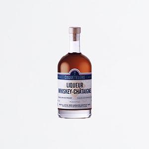 Liqueur Whiskey-Châtaigne